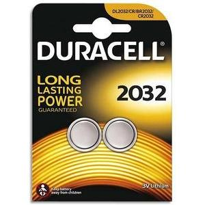 2 piles Duracell SPE 2032