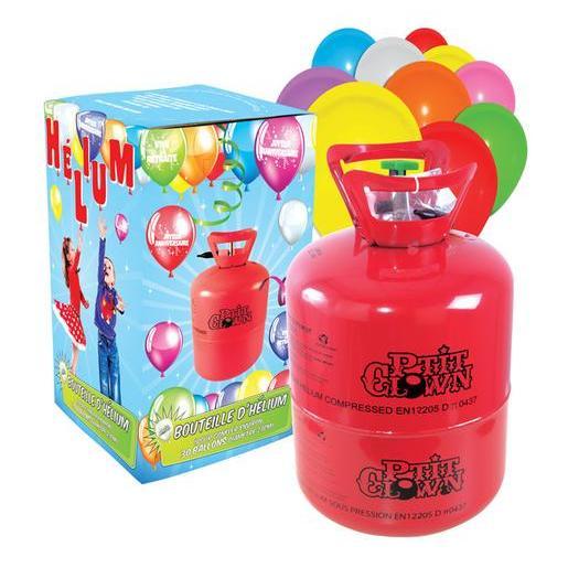 Bouteille D Helium Et 30 Ballons Decoration De Fete La Foir Fouille