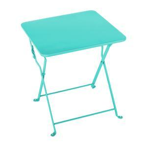 Table d'appoint Diana - 40 x 40 x H 45 cm - Bleu