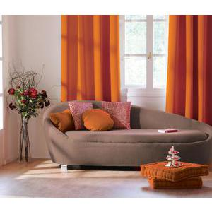 Panneau à œillets - 100% polyester - 140 x 240 cm - Orange