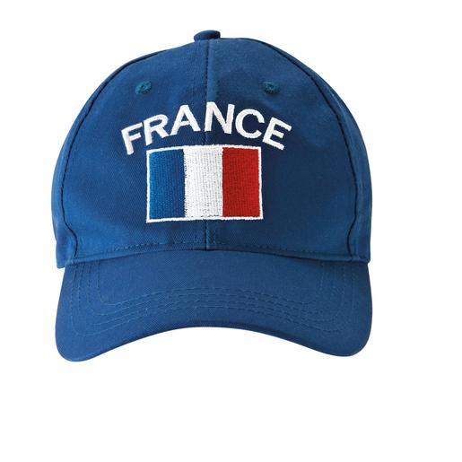 design élégant grand choix de 2019 livraison gratuite Casquette - Polyester et Coton - Bleu et Blanc et Rouge ...