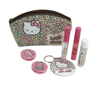 Coffret maquillage Hello Kitty - 18 x 21 x 4,5 cm - Multicolore