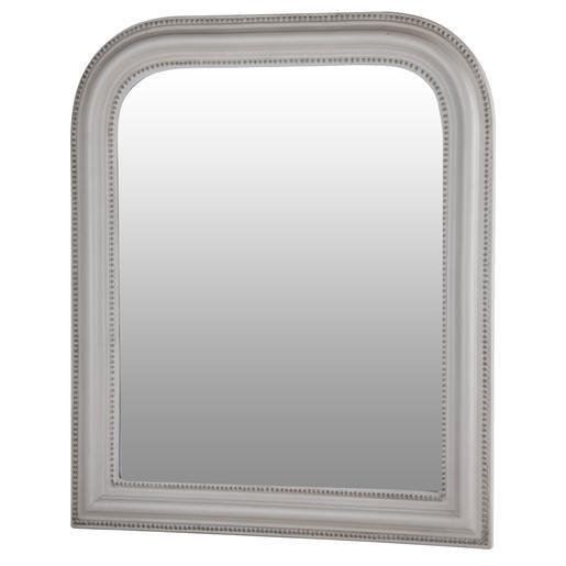 Miroir gris for Miroir argente pas cher