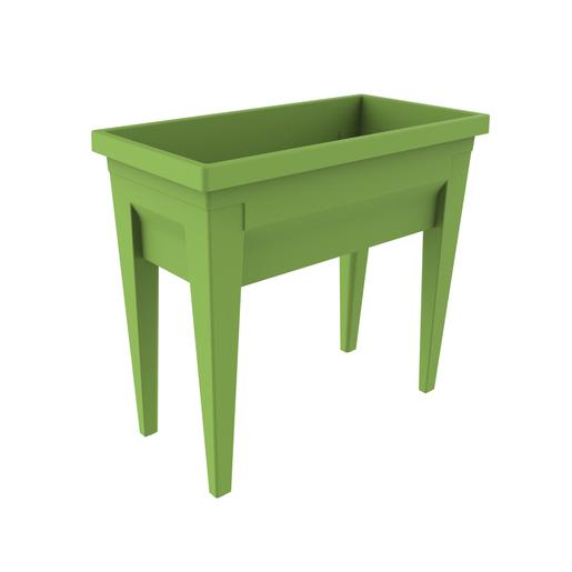 Jardini re sur pieds vert pots de fleur et cache pot for Aspirateur piscine hors sol la foir fouille