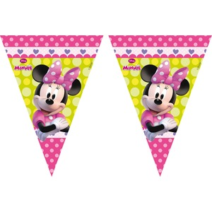 Guirlande Minnie Bow-tique en plastique - 2,3 m - Multicolore