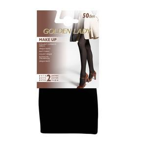 2 paires de collants opaques 50D Golden Lady - M - Noir