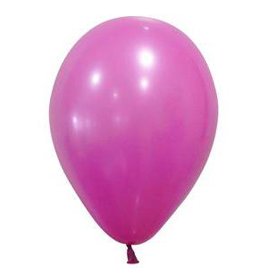 10 ballons gonflables opaques - Latex - ø 25 cm - Rose