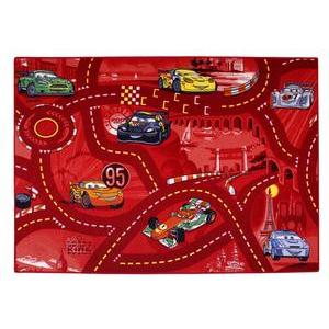 Tapis de circulation - Polyamide - 95 x 133 cm - Rouge
