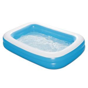 Piscine gonflable rectangulaire - 262 x 175 x H 46 cm