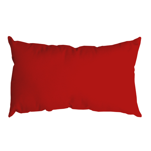 Coussin Nelson - 100 % Polyester - 30 x 50 cm -Rouge