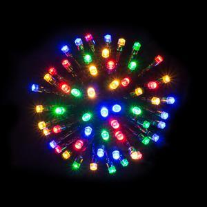 Guirlande électrique 80 LED - L 8 m - Multicolore