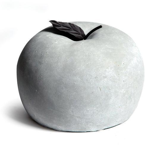 pomme dcorative cramique 105 x h 10 cm gris - Pomme Ceramique Pour Decoration