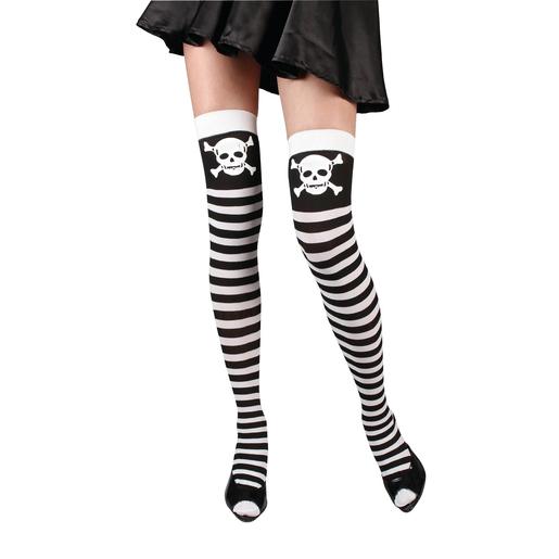 Accessoires Halloween noir blanc Chaussette costumes et 5jq3R4AL