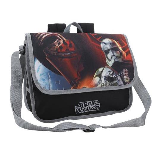 Cartable Star Wars - Polyester - 32 x 10 x H 23 cm - Multicolore
