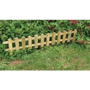 Bordure stackette en pin - 60 x H 40 cm