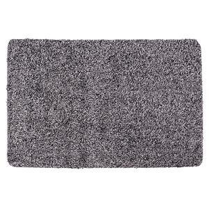 Tapis anti salissures - Polyester - 46 x 71 cm - Gris