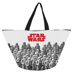 Grand sac Star Wars - Polyester - 57 x 30 x 33 cm - Blanc, gris et rouge