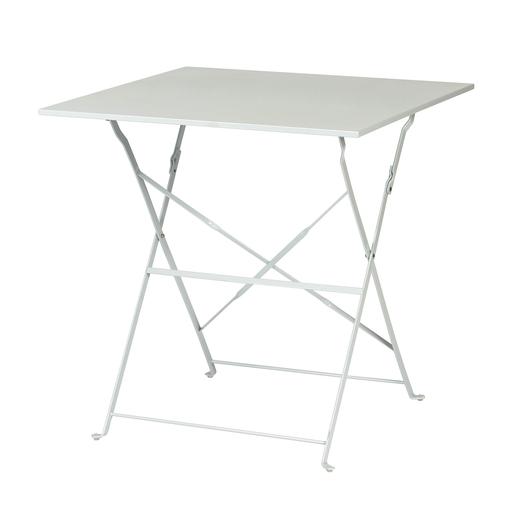 Table pliante - Acier - Gris - Mobilier de jardin | La Foir\'Fouille
