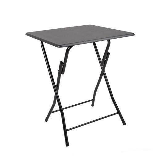 Table Pliante 60 X 60 X H 75 Cm Noir Meubles Pour La Cuisine La Foir Fouille