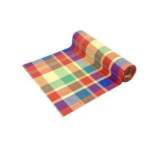 Chemin de table Madras - 400 x 28 cm - Multicolore