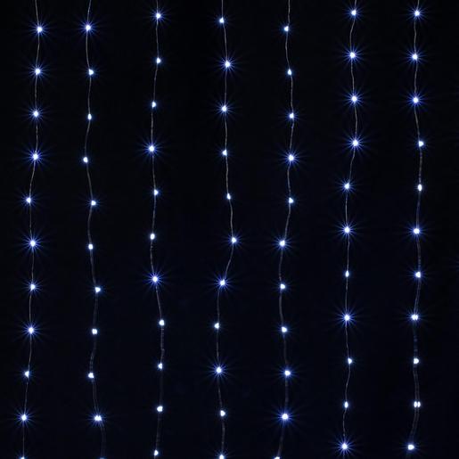 Guirlande électrique Rideau 160 Led Blanc Guirlandes Lumineuses