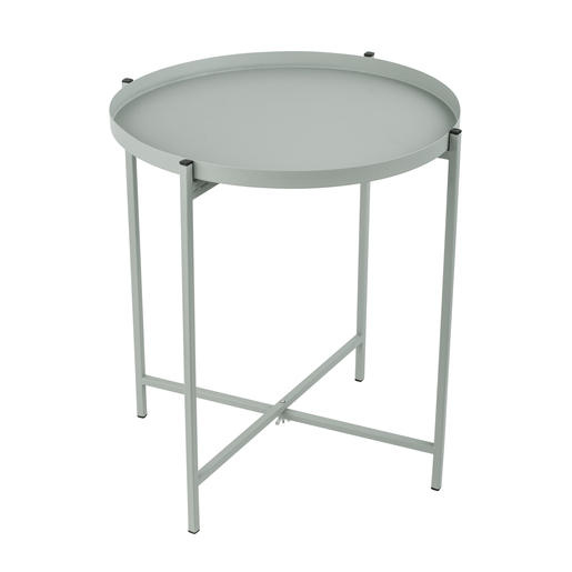 Table d'appoint - 40 x 40 x H 40 cm - Gris