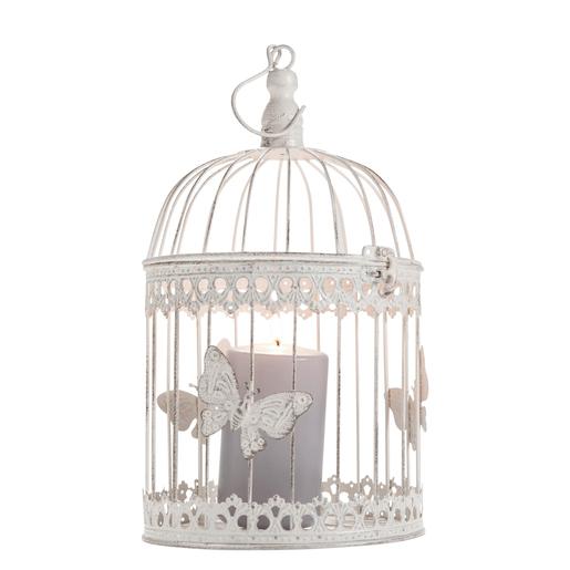 Cage à oiseau décorative - H 33 cm - Objets déco   La Foir Fouille b5774b4ddb7c