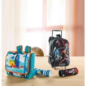 Cartable Dory - Polyester - 38 x 13 x H 31 cm - Multicolore