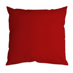Coussin Nelson - 100 % Polyester - 60 x 60 cm - Rouge