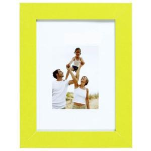 Porte-photo en optimo anis et MDF - 34 x 28 cm - vert