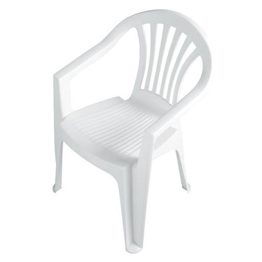 Chaise Plastique Blanc. Chaise Plastique Stock Stone Stone Chaise ...