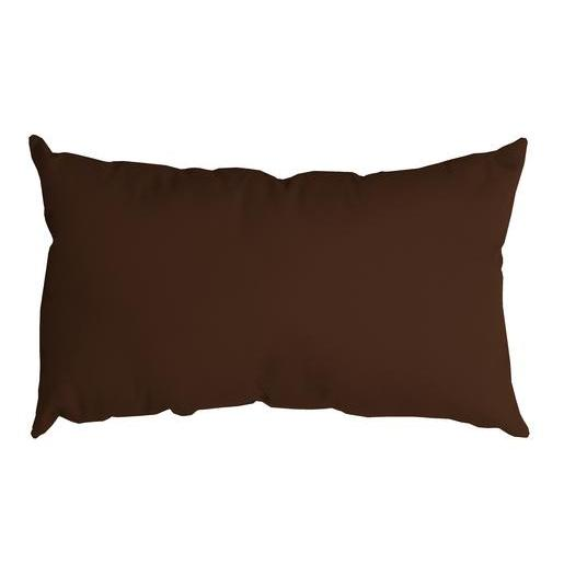 Coussin Nelson - 100 % Polyester - 30 x 50 cm - Marron