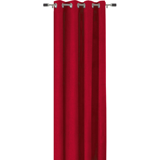 Rideau Rouge Rideaux Et Voilages La Foir Fouille