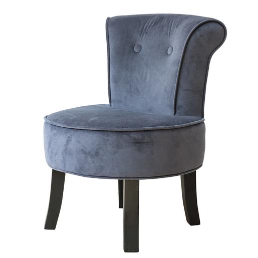 petit fauteuil crapaud pin polyester gris meubles de salon la foir 39 fouille. Black Bedroom Furniture Sets. Home Design Ideas