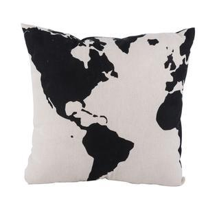 Coussin mappemonde