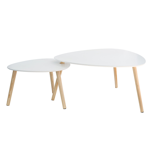 Table gigogne ovale blanc meubles de salon la foir for Aspirateur piscine hors sol la foir fouille