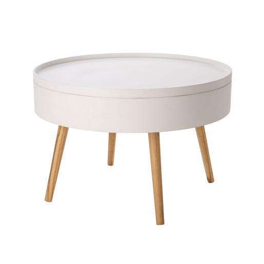 Table basse Blanc - Meubles de salon | La Foir\'Fouille