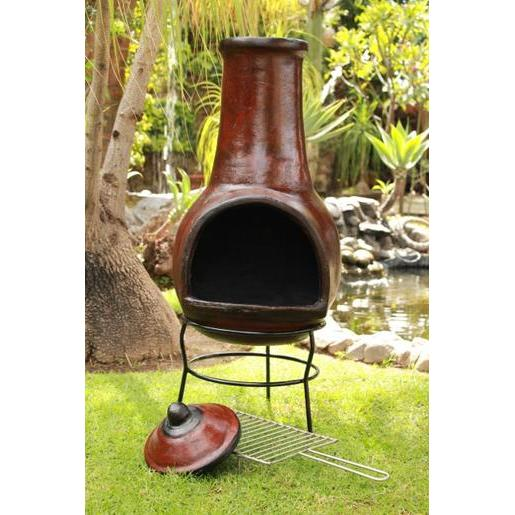 Barbecue mexicain en terre cuite - Barbecues | La Foir\'Fouille