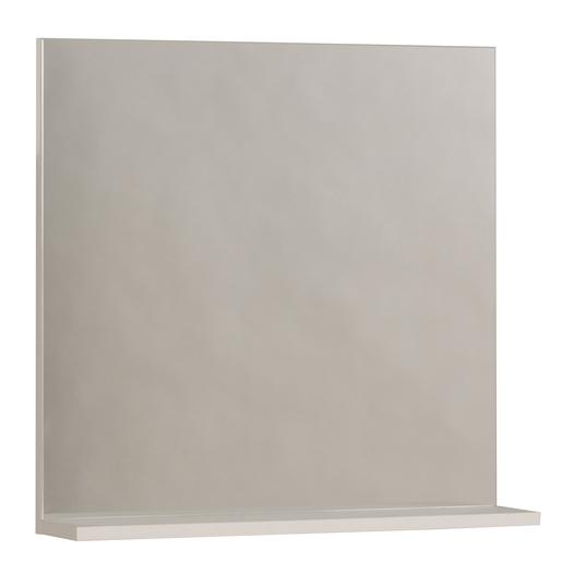 Miroir Avec Tablette Blanc Accessoires Salle De Bain La Foir