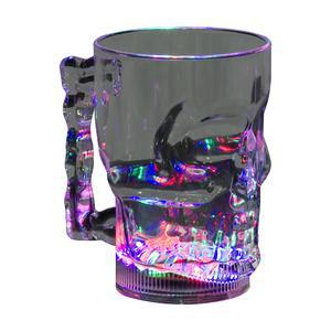 Verre Halloween Led - Plastique - 40 cl - Multicolore