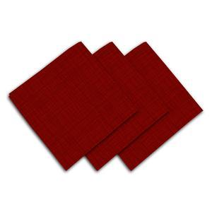 3 serviettes Galaxy - 45 x 45 cm - Rouge