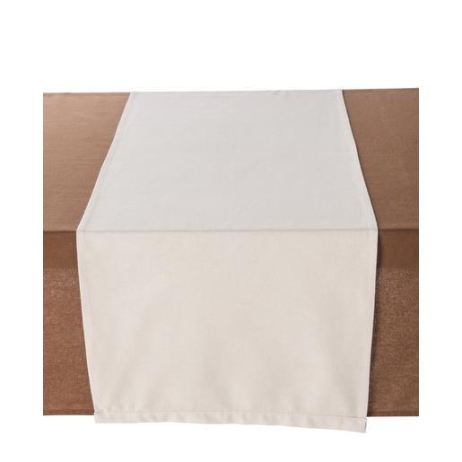 Chemin de table - 100 % coton - 50 x 150 cm - Lin