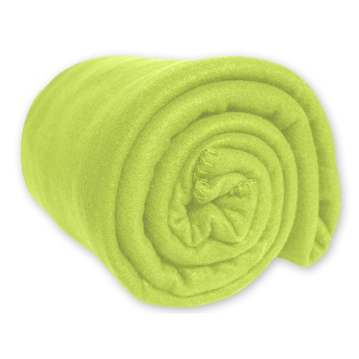 Couverture polaire - 220 x 240 - Vert anis