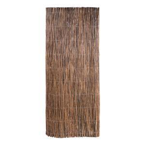 Canisse en rouleau - Osier naturel - 5 x H 1,5 m - Marron naturel