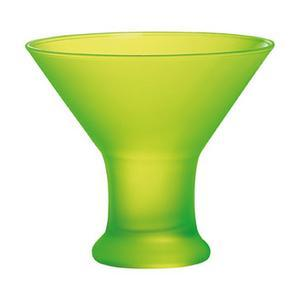 Coupe à glace Techno Colors - Verre - 12 x H 11 cm - Jaune