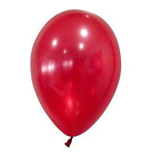 24 ballons nacrés - Latex - ø 30 cm - Rouge