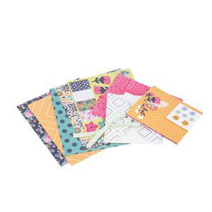 Coffret scrapbooking adulte - Plastique - Multicolore