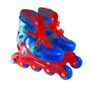 Rollers Spiderman - 28 x 12 x 26 cm - bleu, rouge