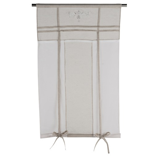 Store enrouleur collection Charme - 80 x 160 cm - Beige