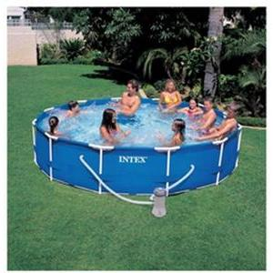 Piscine tubulaire ronde Metal Frame - 3.66 x 0.76 m